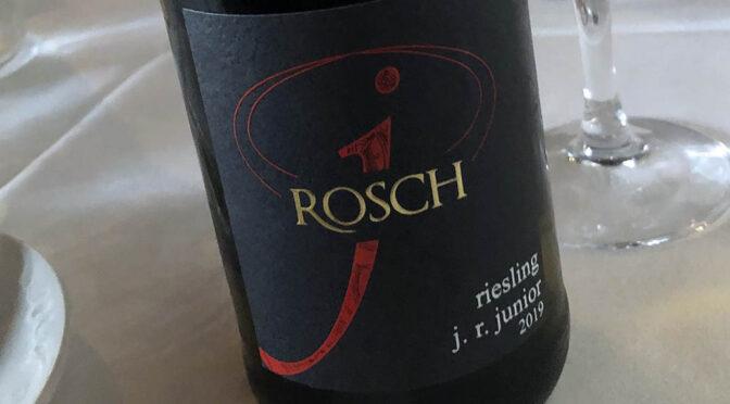 2019 Weingut Josef Rosch, Riesling J.R. Junior, Mosel, Tyskland