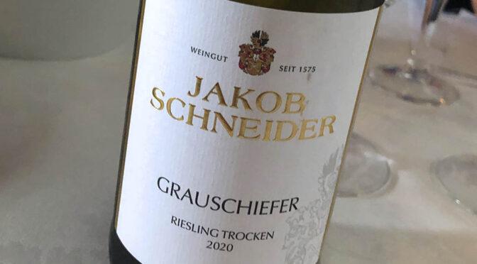 2020 Weingut Jakob Schneider, Grauschiefer Riesling Trocken, Nahe, Tyskland