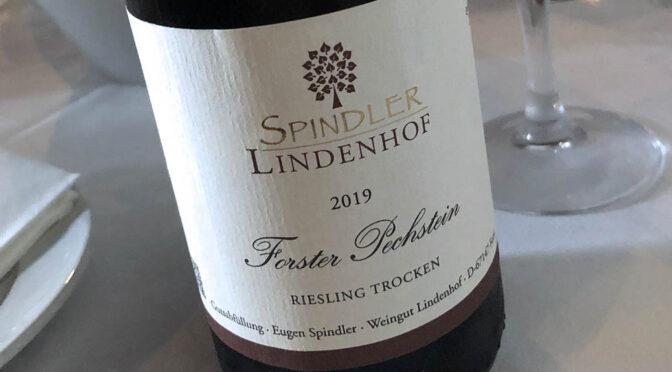 2019 Weingut Spindler Lindenhof, Forster Pechstein Riesling Trocken, Pfalz, Tyskland