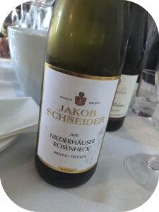 2020 Weingut Jakob Schneider, Niederhäuser Rosenheck Riesling Trocken, Nahe, Tyskland