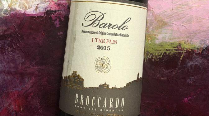 2015 Broccardo, Barolo I Tre Pais, Piemonte, Italien