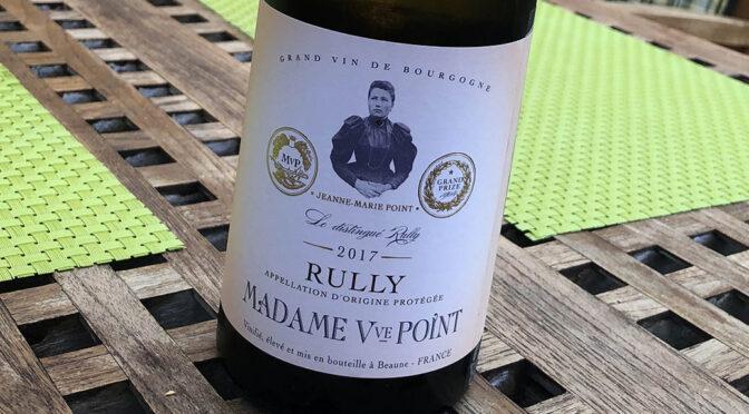 2017 Madame Veuve Point, Rully Blanc, Bourgogne, Frankrig
