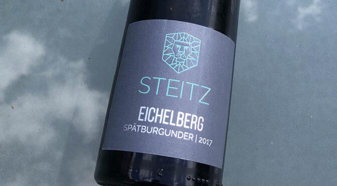 2017 Weingut Steitz, Fürfeld Eichelberg Spätburgunder, Rheinhessen, Tyskland