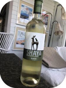 2020 Bodegas Shaya, Shaya Sauvignon Blanc, Rueda, Spanien