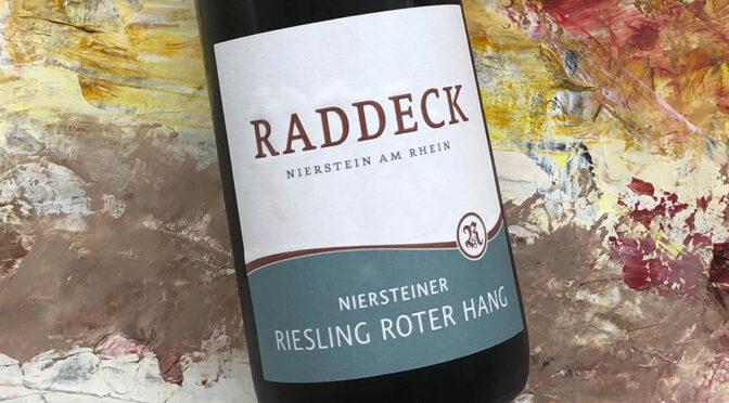 2019 Weingut Raddeck, Roter Hang Riesling, Rheinhessen, Tyskland