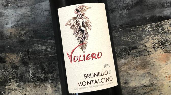 2016 Voliero, Brunello di Montalcino, Toscana, Italien