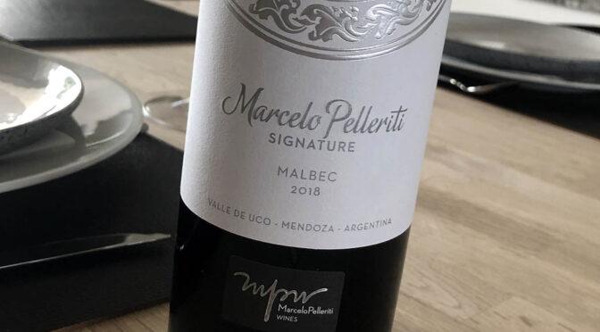 2018 Marcelo Pelleriti Wines, Signature Malbec, Mendoza, Argentina