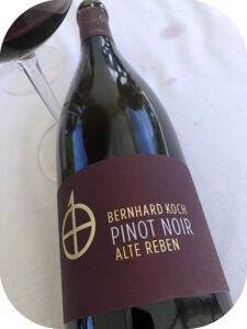 2017 Weingut Bernhard Koch, Hainfelder Letten Pinot Noir Réserve Alte Reben, Pfalz, Tyskland