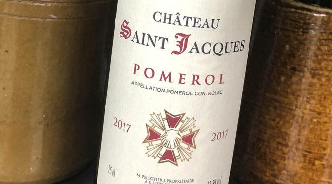 2017 Château Saint Jacques, Pomerol, Bordeaux, Frankrig