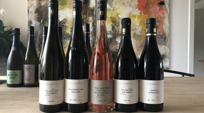 Houlberg tester vine fra … Weingut Heid og Gut Wilhelmsberg