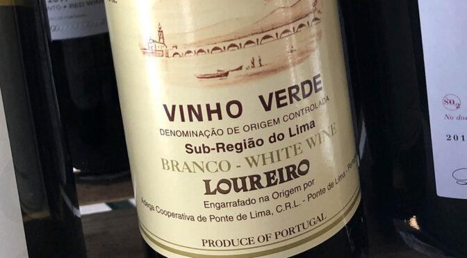 2020 Adega Ponte de Lima, Vinho Verde Loureiro, Minho, Portugal