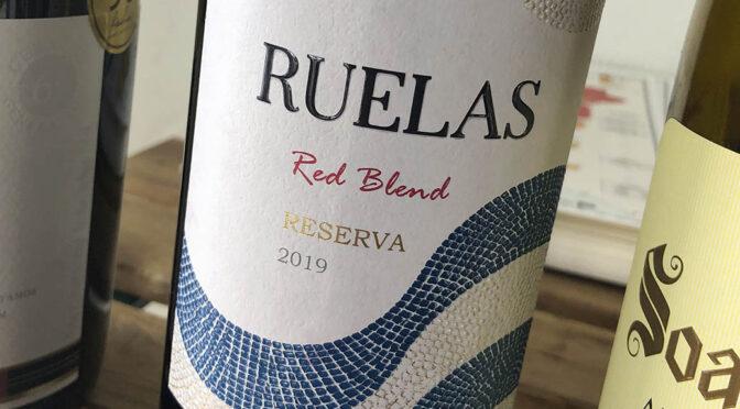 2019 Parras Vinhos, Ruelas Reserva Red, Lisboa, Portugal