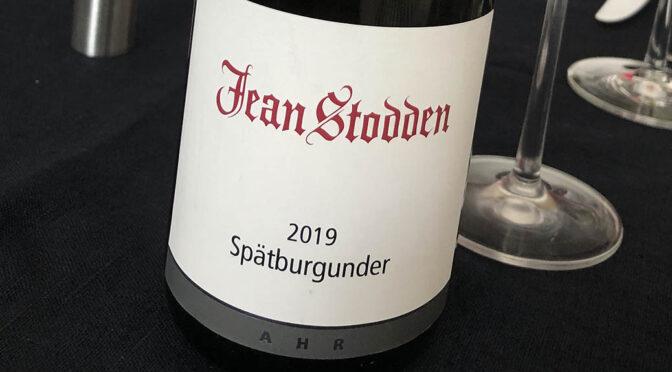 2019 Weingut Jean Stodden, Spätburgunder, Ahr, Tyskland