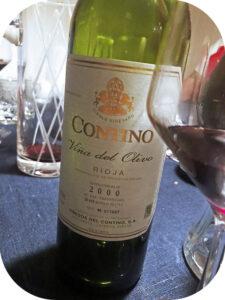 2000 Compañía Vinícola del Norte del España, Contino Viña del Olivo, Rioja, Spanien