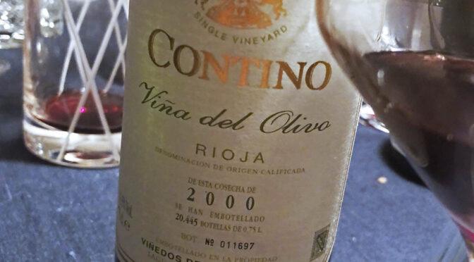 2000 Compañía Vinícola del Norte de España, Contino Viña del Olivo, Rioja, Spanien