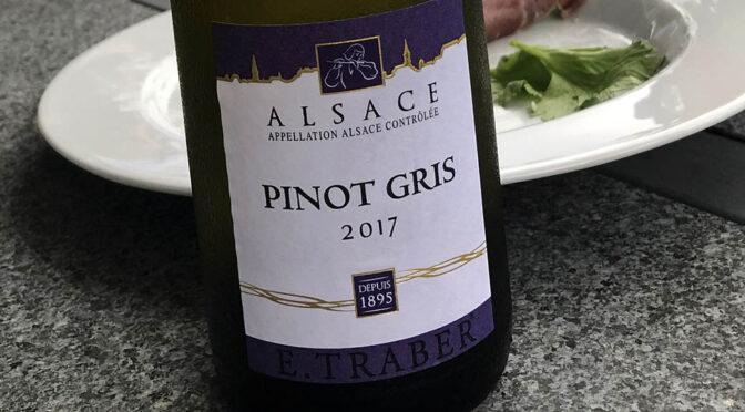 2017 Cave de Ribeauvillé, E. Traber Pinot Gris Demi-Sec, Alsace, Frankrig