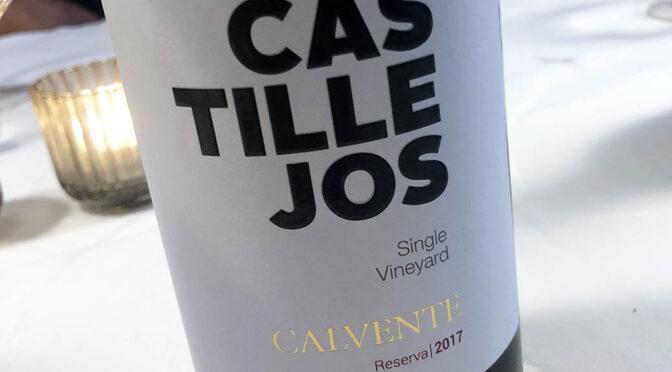 2017 Bodegas Calvente, Castillejos Reserva, Andalusien, Spanien