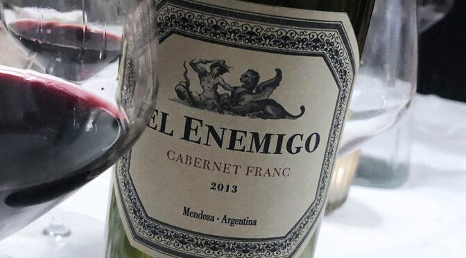 2013 El Enemigo, Cabernet Franc, Mendoza, Argentina