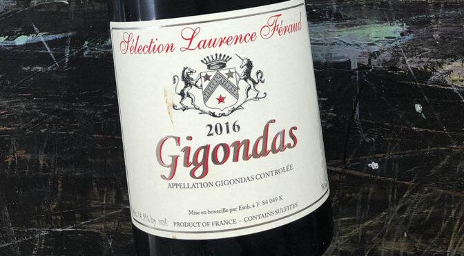 2016 Sélection Laurence Féraud, Gigondas, Rhône, Frankrig