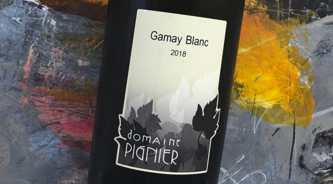2018 Domaine Pignier, Gamay Blanc, Jura, Frankrig
