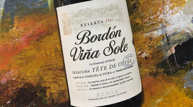 2011 Bodegas Franco-Españolas, Bordón Viña Sole Selección Tête de Cuvée, Rioja, Spanien