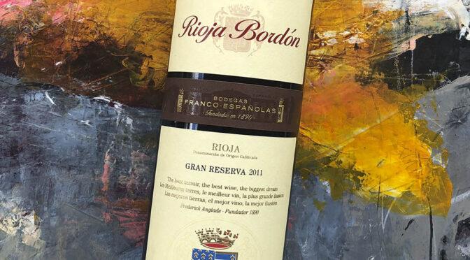 2011 Bodegas Franco-Españolas, Rioja Bordón Viña Gran Reserva,, Rioja, Spanien