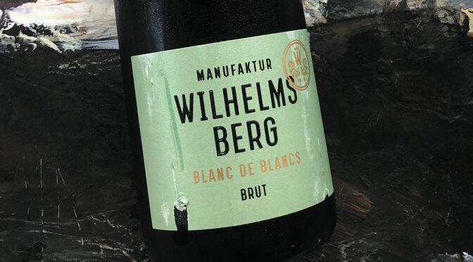 2018 Gut Wilhelmsberg, Blanc de Blancs Deutscher Sekt Brut, Franken, Tyskland