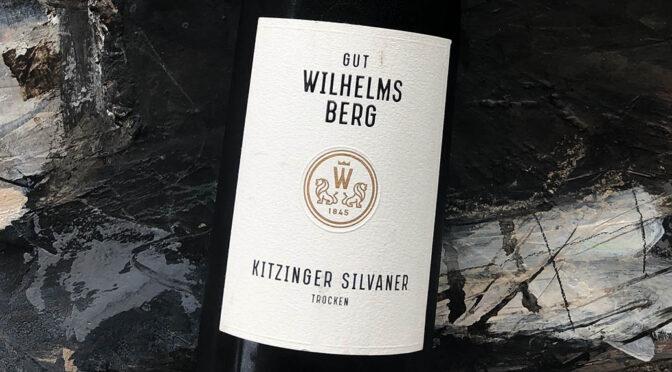 2019 Gut Wilhelmsberg, Kitzinger Silvaner Trocken, Franken, Tyskland