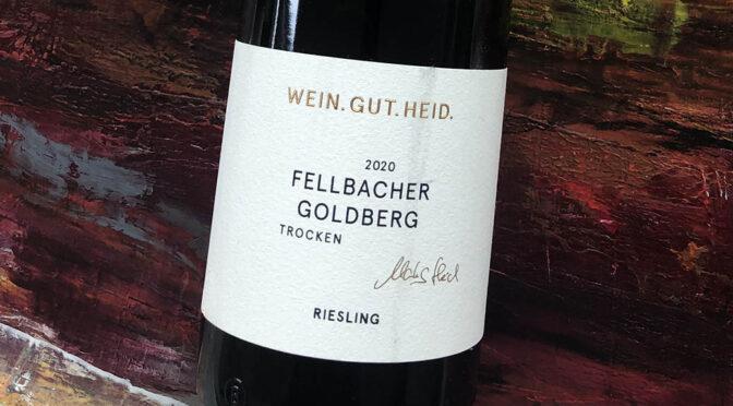 2020 Weingut Heid, Fellbacher Goldberg Riesling Trocken, Württemberg, Tyskland