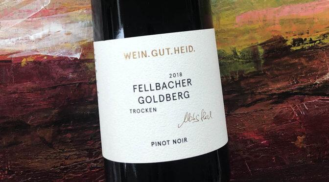 2018 Weingut Heid, Fellbacher Goldberg Pinot Noir Trocken, Württemberg, Tyskland