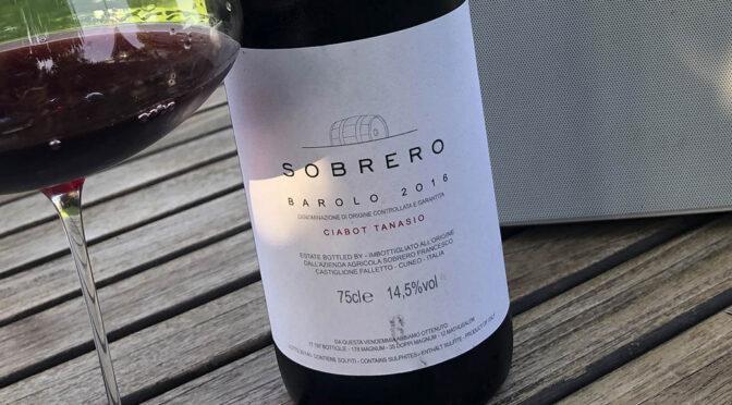 2016 Sobrero, Barolo Ciabot Tanasio, Piemonte, Italien