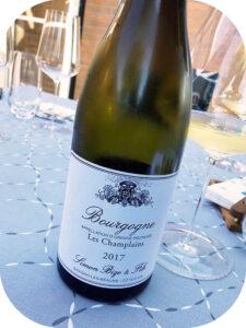 2017 Simon Bize & Fils, Bourgogne Blanc Les Champlains, Bourgogne, Frankrig