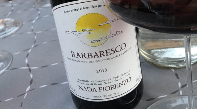 2013 Nada Fiorenzo, Barbaresco, Piemonte, Italien