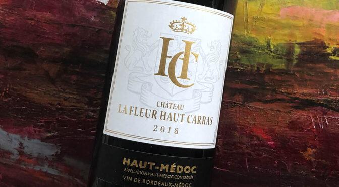 2018 Château la Fleur Haut Carras, Haut-Médoc, Bordeaux, Frankrig