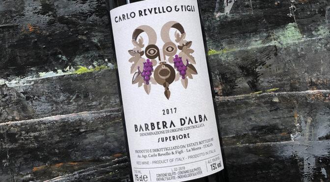 2017 Carlo Revello & Figli, Barbera d'Alba Superiore, Piemonte, Italien