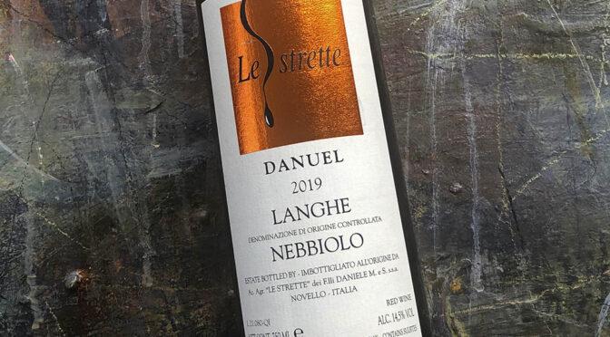 2019 Le Strette, Danuel Langhe Nebbiolo, Piemonte, Italien