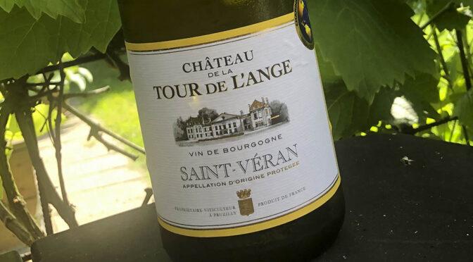 2017 Chateau de la Tour de l'Ange, Saint-Véran Blanc, Bourgogne, Frankrig