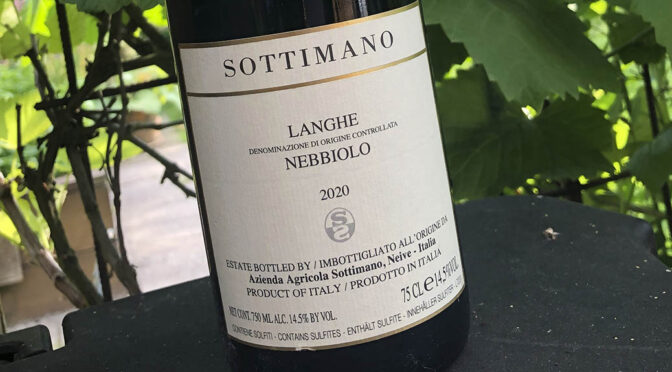 2020 Sottimano, Langhe Nebbiolo, Piemonte, Italien