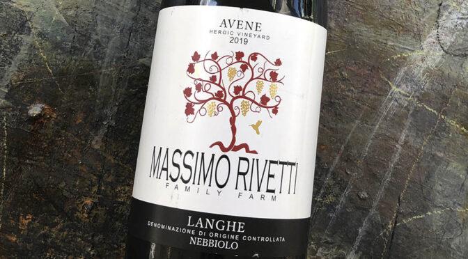 2019 Massimo Rivetti, Langhe Nebbiolo Avene, Piemonte, Italien