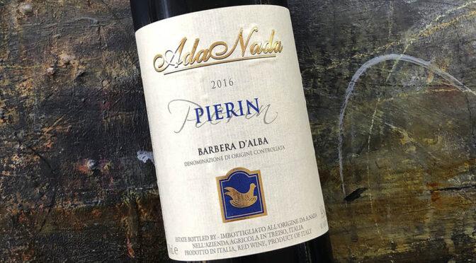 2016 Ada Nada, Barbera d'Alba d'Pierin, Piemonte, Italien