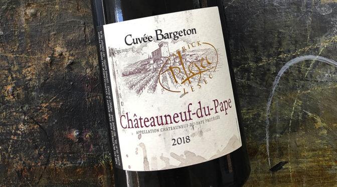 2018 Patrick Lesec, Châteauneuf du Pape Cuvée Bargeton, Rhône, Frankrig