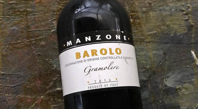 2016 Giovanni Manzone, Barolo Gramolere, Piemonte, Italien