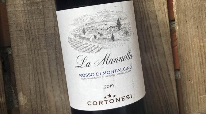 2019 Cortonesi, La Mannella Rosso di Montalcino, Toscana, Italien
