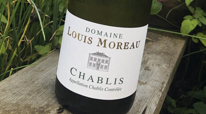 2019 Domaine Louis Moreau, Chablis, Bourgogne, Frankrig