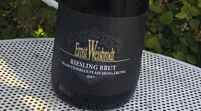 2017 Wein- & Sektgut Ernst Weisbrodt, Riesling Sekt Brut, Pfalz, Tyskland