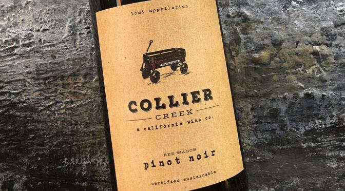 2018 Collier Creek Wine Co., Red Wagon Pinot Noir, Californien