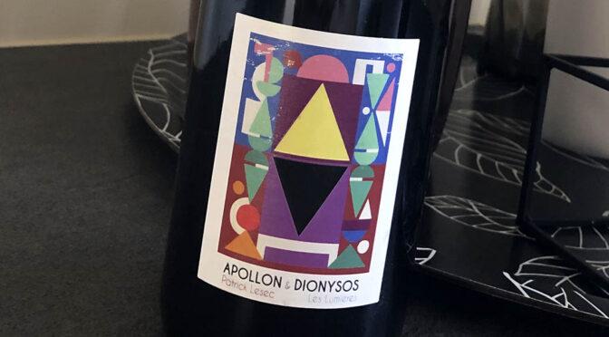 2019 Patrick Lesec, Apollon & Dionysos, Rhône, Frankrig