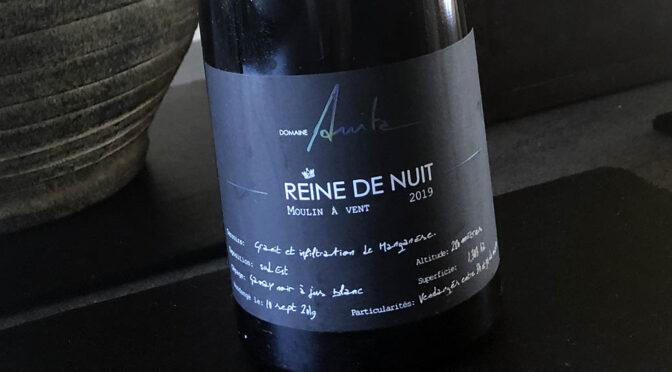 2019 Domaine Anita, Moulin à Vent Reine de Nuit, Bourgogne, Frankrig
