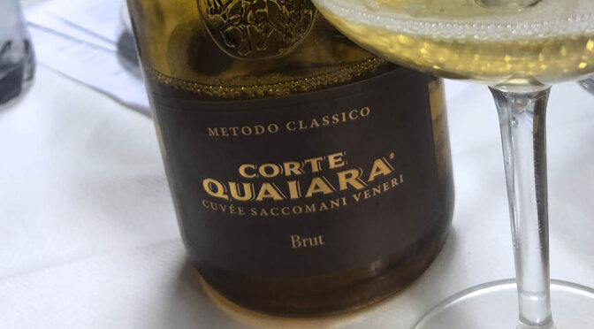 2009 Corte Quaiara, Spumante Metodo Classico Cuvée Saccomani-Veneri Brut, Veneto, Italien
