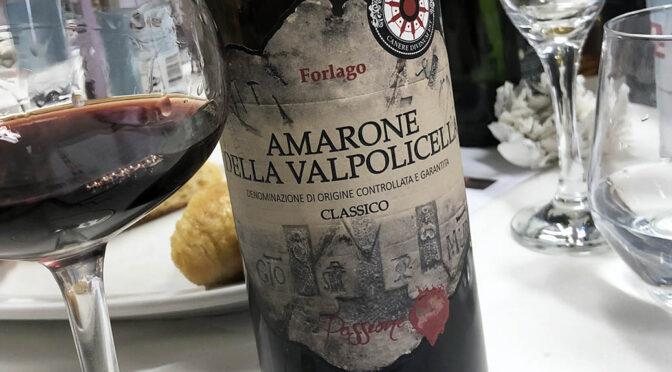 2015 Franchini, Amarone della Valpolicella Forlago Passione, Veneto, Italien